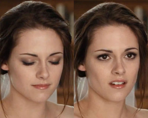 Bella Swan wedding makeup