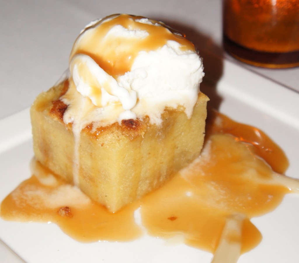 Banana Bread pudding Napa valley grille