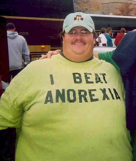 I_Beat_Anorexia_T-Shirt
