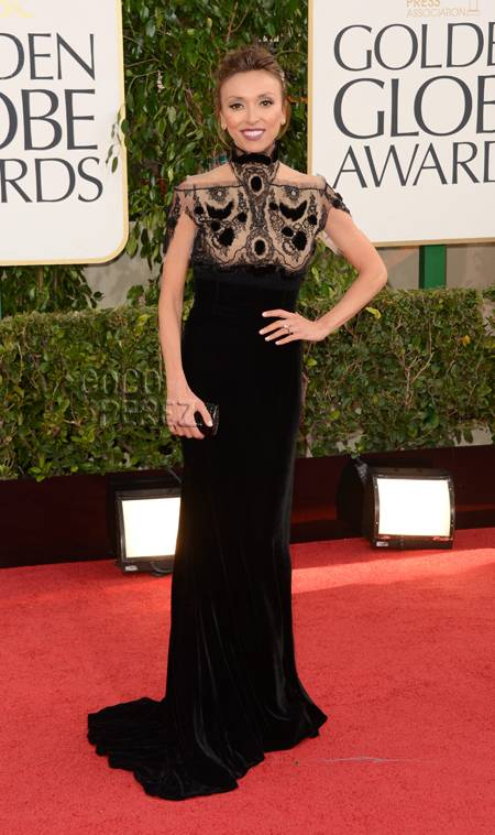 Giuliana Rancic Golden Globes 2013