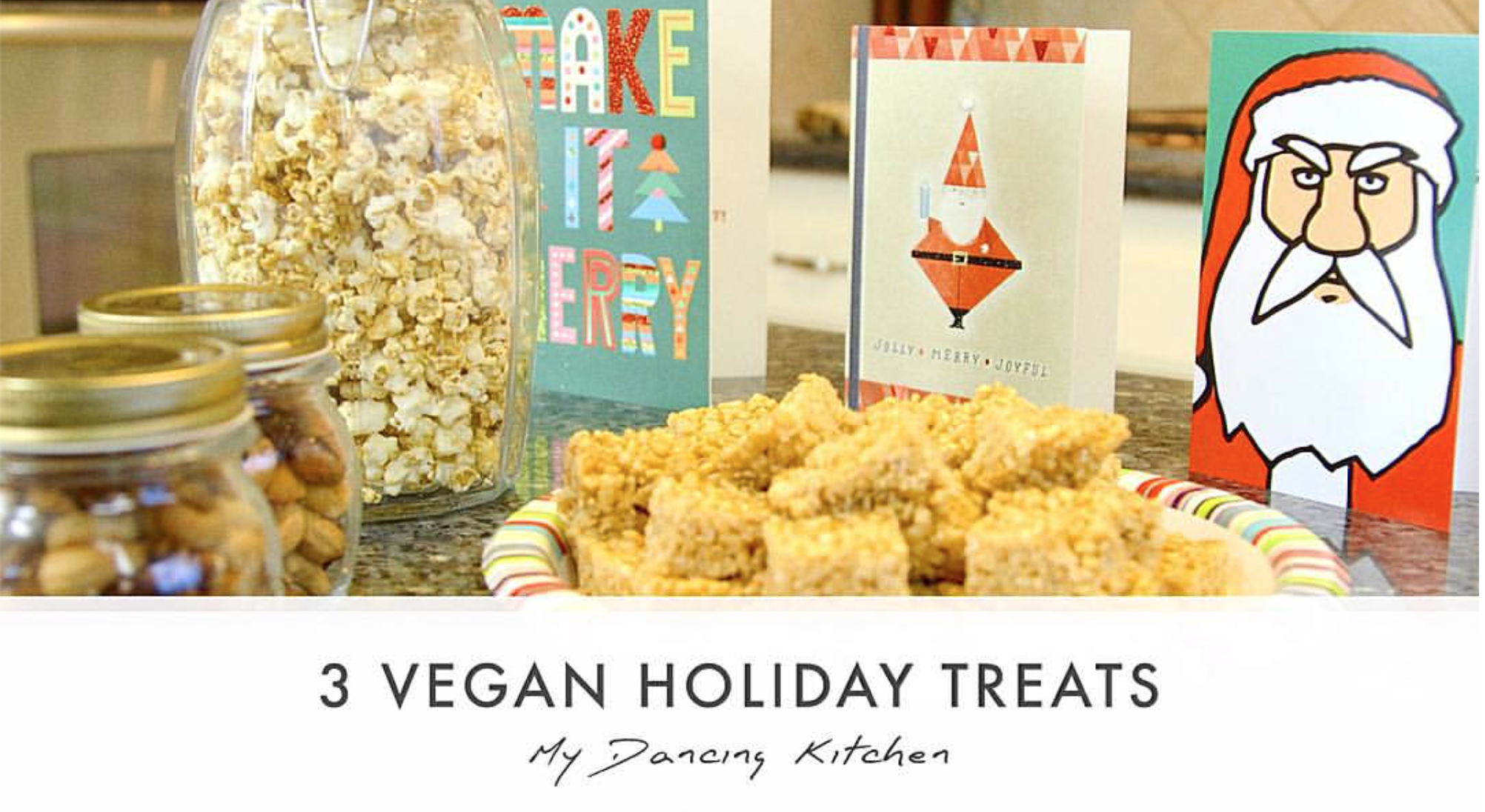3 vegan holiday treats